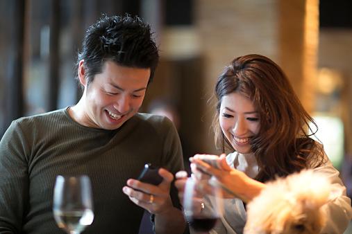 Mobile at Bar